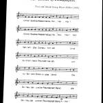 Donaufahrerlied-Noten